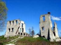 Ruiny zamku w Mokrsku